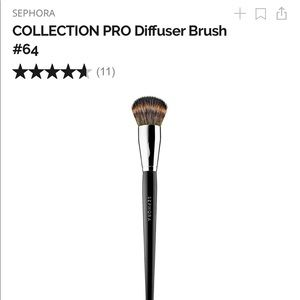 NEW Sephora Collection Pro Diffuser #64 Brush